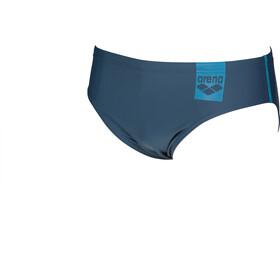 arena Basics Mutanda Uomo, shark/turquoise